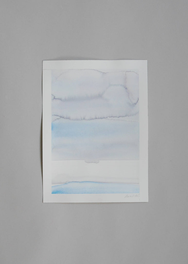 Marika Vaccino Andersson Pale Painting Cloud Studies