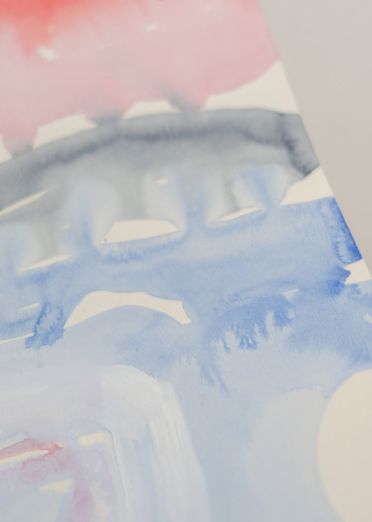 Marika Vaccino Andersson watercolour painting detail
