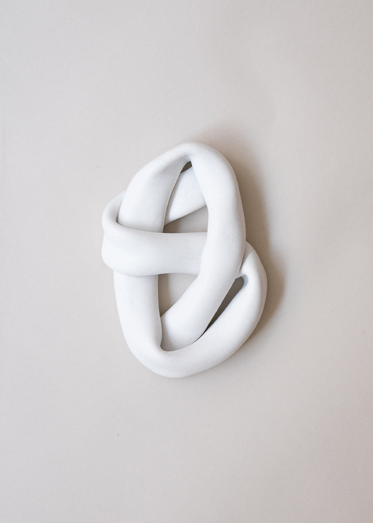 Sofia Tufvasson ceramic sculpture knot