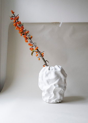 The Ode To Sofia Tufvasson Morel Vase White