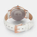 <strong>The ACE</strong> <br>rose gold / pearlized white croco