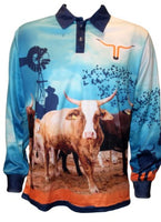 Kids Bull Fishing Shirt