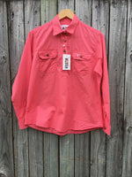 Ladies Ringer Range Work Shirt