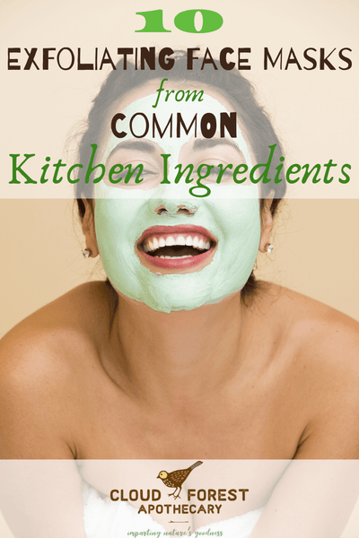 10 Exfoliating Face Masks from Common Kitchen Ingredients