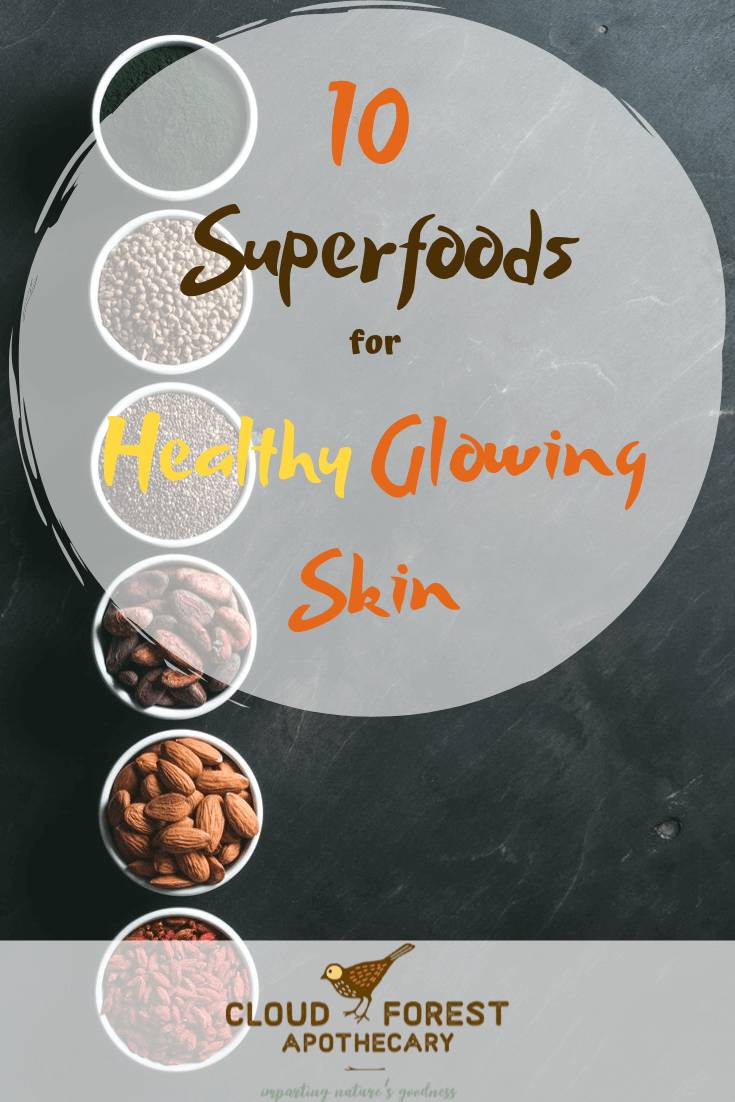 10 Superfoods for Healthy Glowing Skin