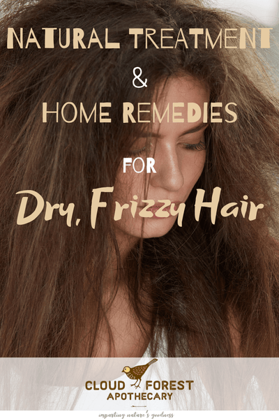 Natural Treatment and Home Remedies for Dry, Frizzy Hair