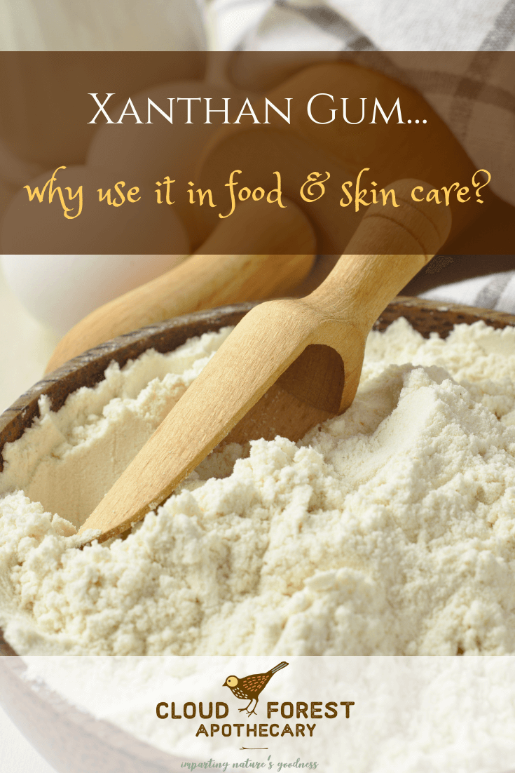Xanthan Gum – Why Use It in Food and Skin Care?
