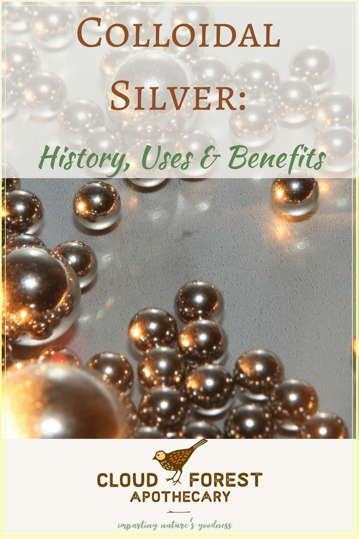 Colloidal Silver: History, Uses & Benefits