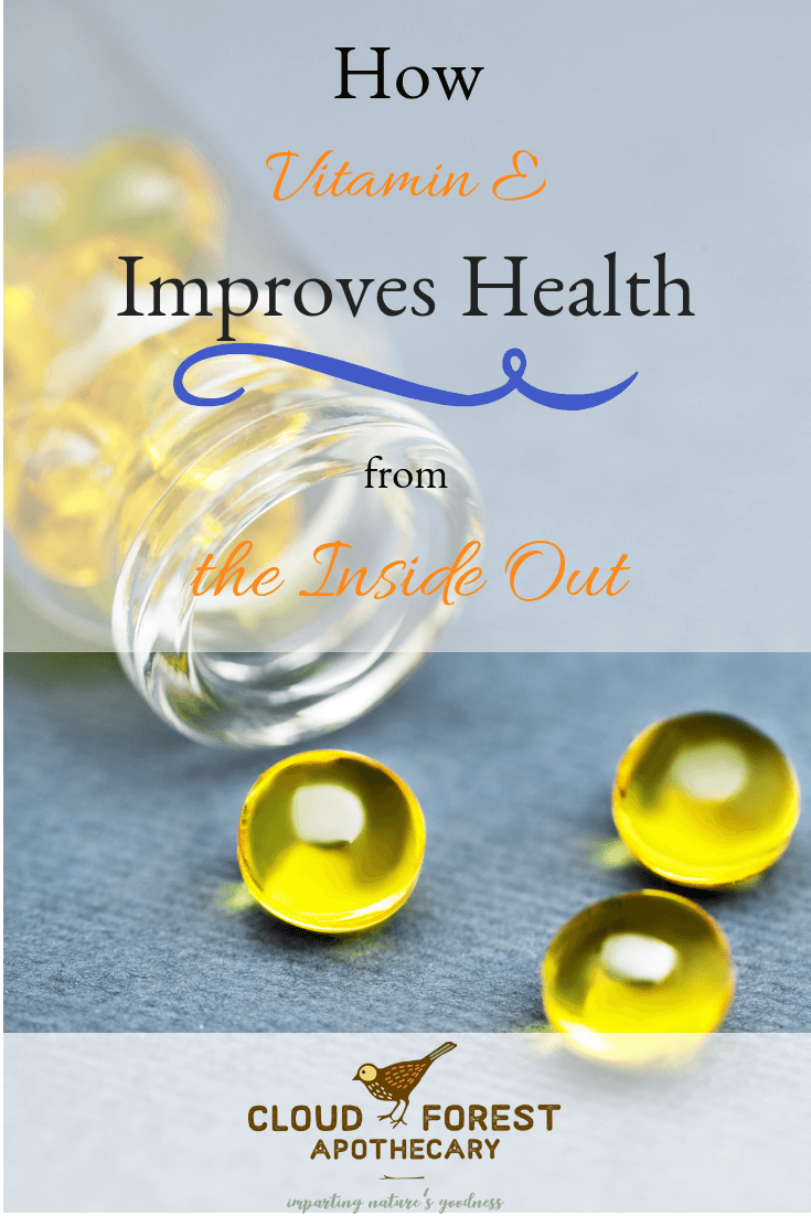 How Vitamin E Improves Health From the Inside Out