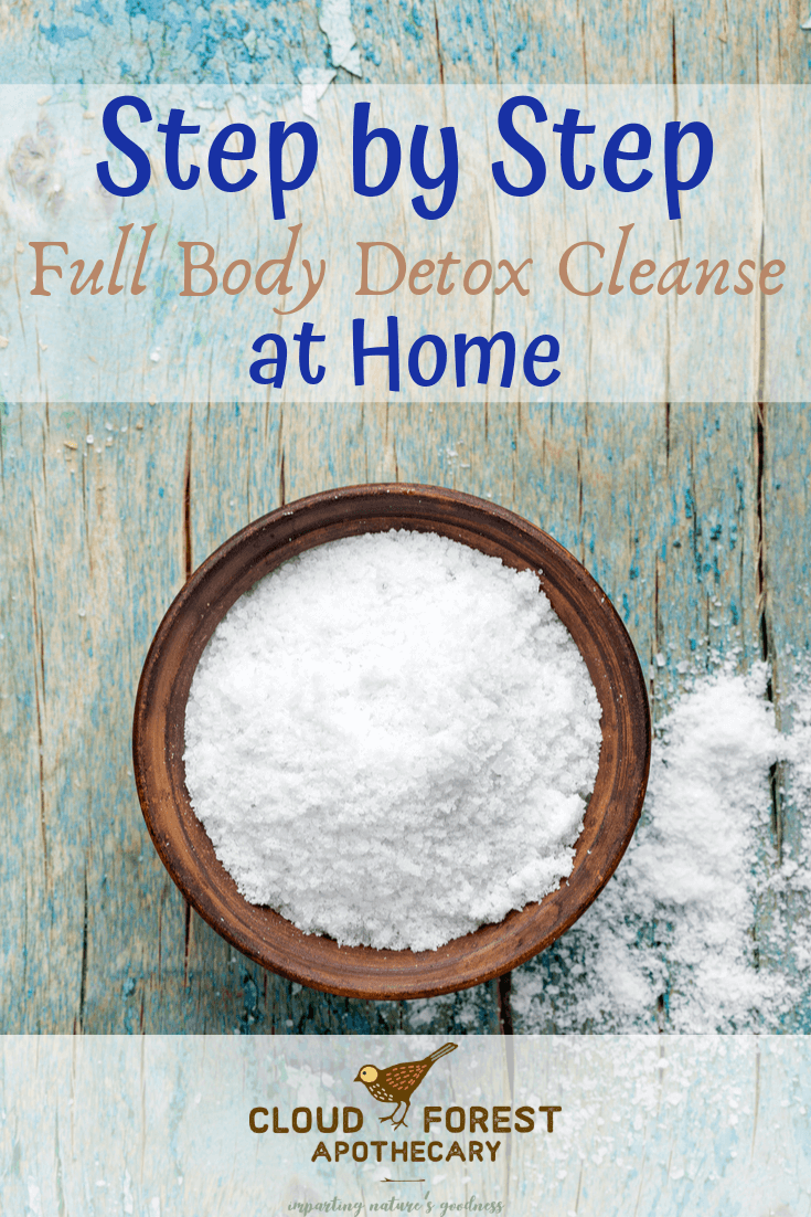 Step by Step Full Body Detox Cleanse at Home