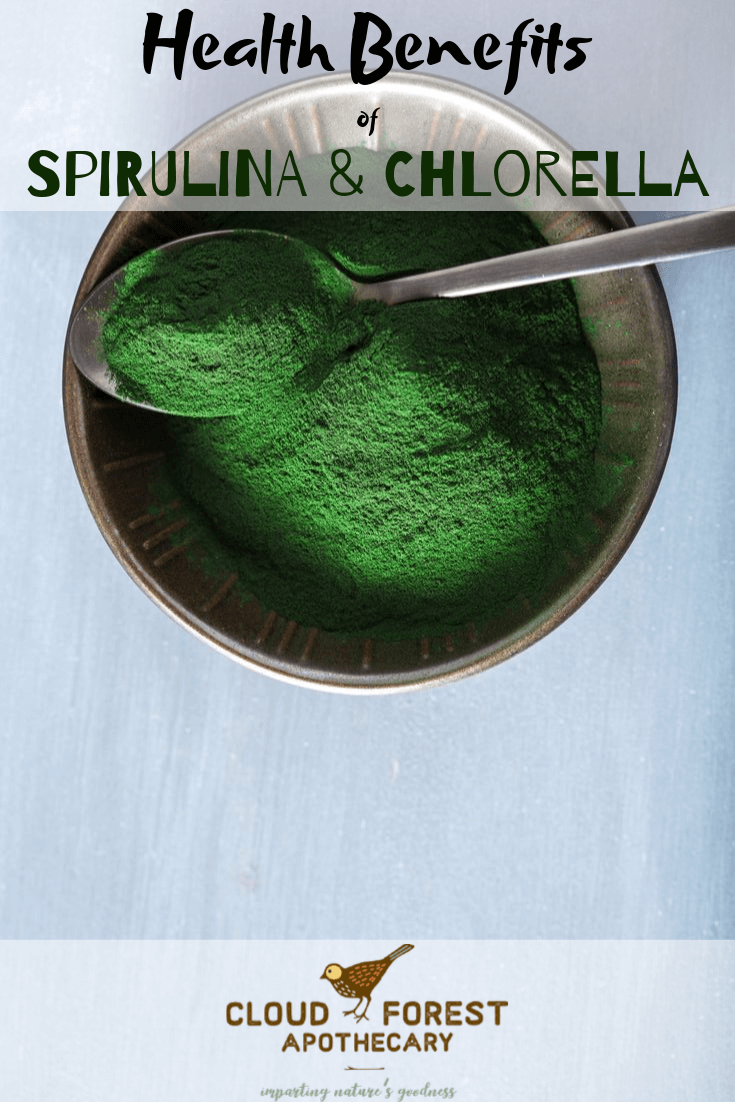Health Benefits of Spirulina and Chlorella