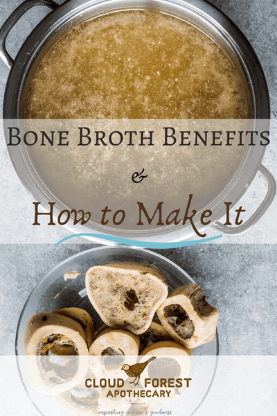 Bone Broth Benefits & How to Make It