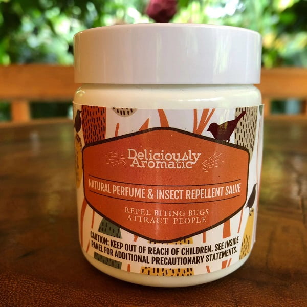 Deliciously Aromatic Natural Perfume & Insect Repellent Salve