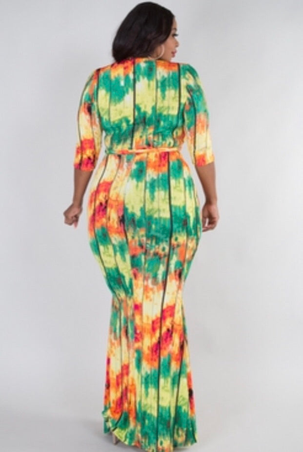 Color Burst (Dress)