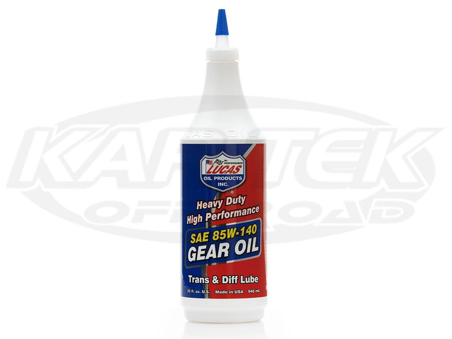 Lucas Oil Heavy Duty 85W-140 Gear Oil 84W-140 1 Gallon Jug