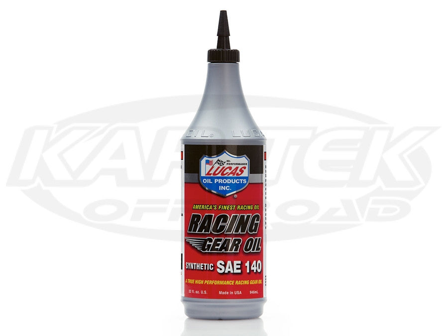 Lucas Oil Synthetic SAE 140 Racing Gear Oil 140 W 5 Quart Jug