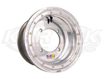 "DWT UTV Ultimate Beadlock Wheels - Polished 12""x8"", 3+5, 4/136"