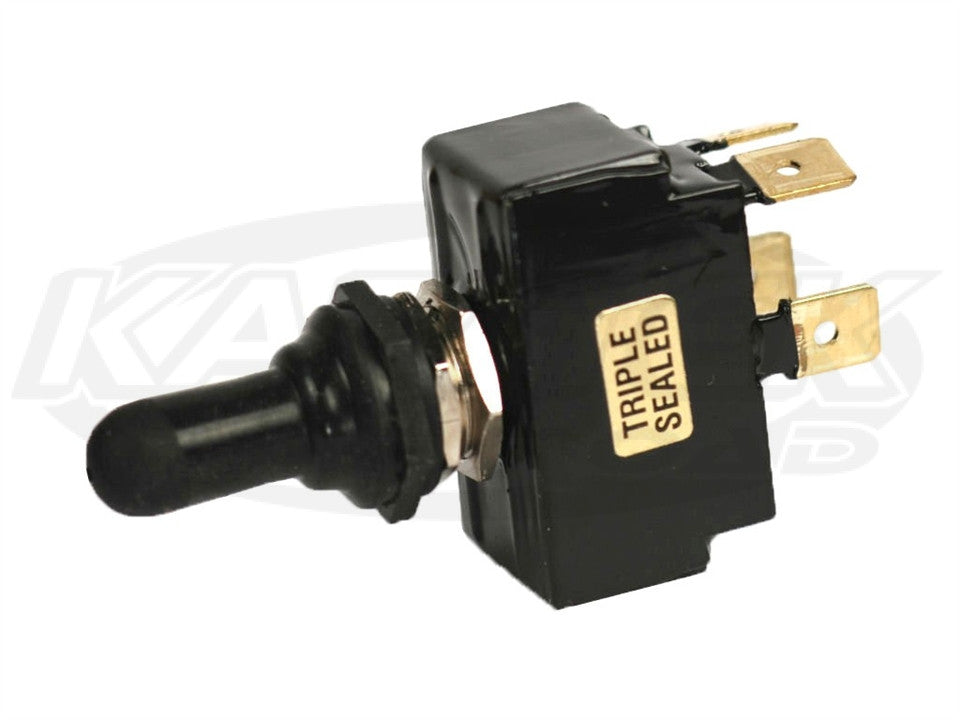 K4 221 Series Sealed Progressive Ignition Switch - Tab Off/On1/On2 Momentary w/ Tab Terminals