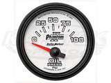 "Phantom II 2-1/16"" Short Sweep Electric Gauges Water Temperature 100_F - 250_F"