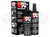 Air Filter Recharger Kit Aerosol Oil & Cleaner Kit
