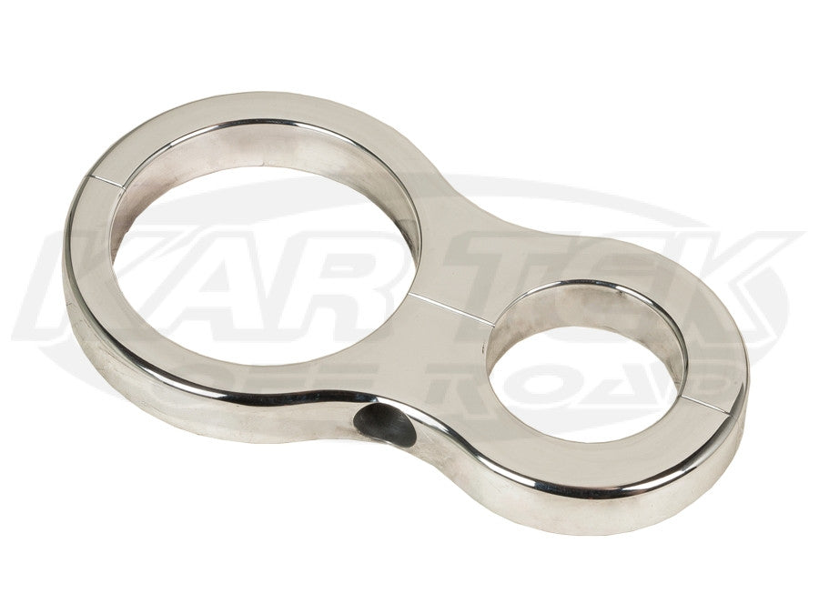 "Shock Reservoir Clamp Brackets 1-1/4"" x 2"""