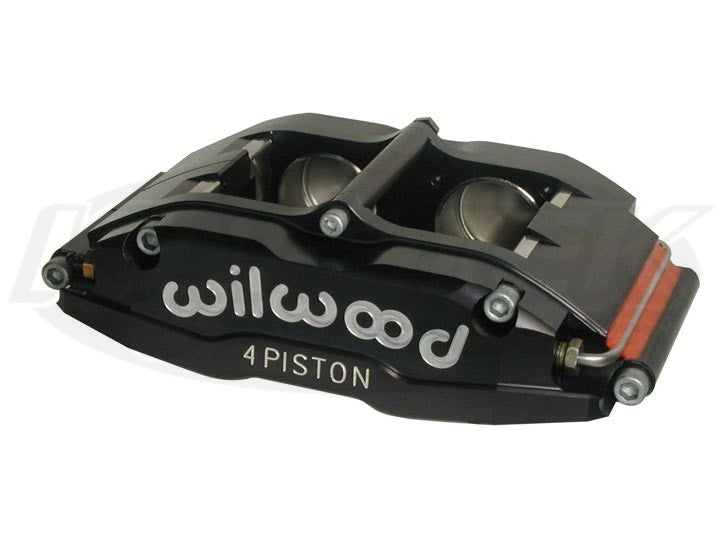 "Superlite Four Lug Mount Four Piston Brake Caliper Rear Right, 1.25"" Rotor Width"
