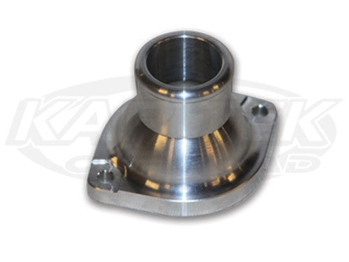 "Billet LS Straight Thermostat Water Neck Fitting 1.5"" Water Neck Fitting"