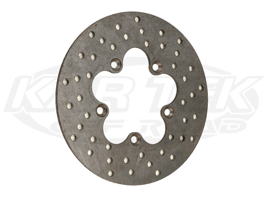 "8-1/2"" 5 Bolt Steel Drilled Rotors 5 x 4"" Bolt, .20"" Width"