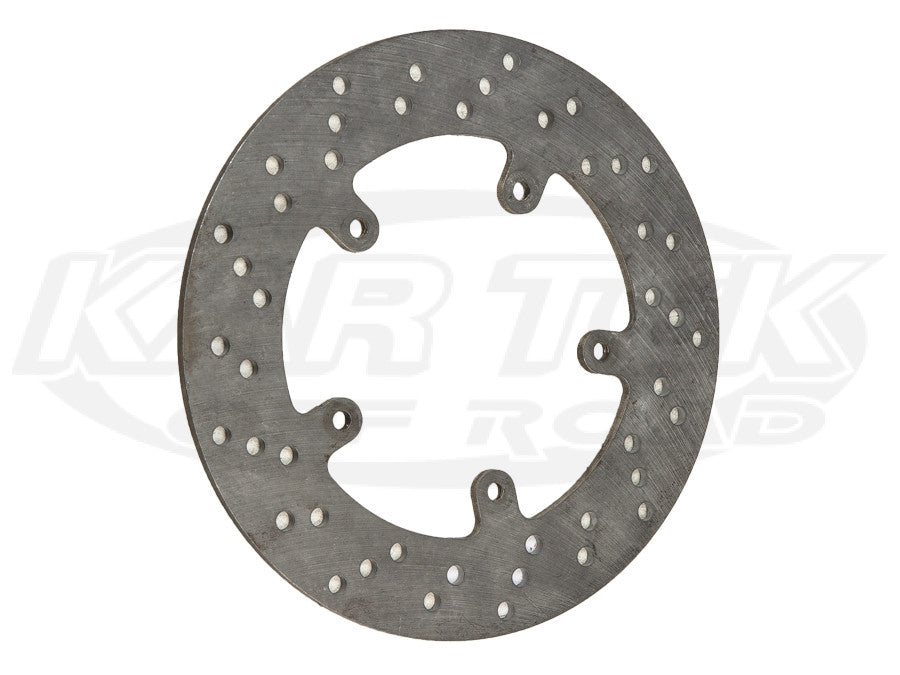 "10"" 5 Bolt Steel Drilled Rotors 5 x 5"" Bolt, .20"" Width"