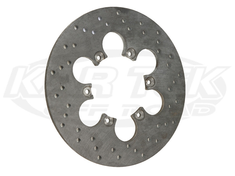 "11"" 6 Bolt Steel Drilled Rotors 6 x 5"" Bolt, .30"" Width"