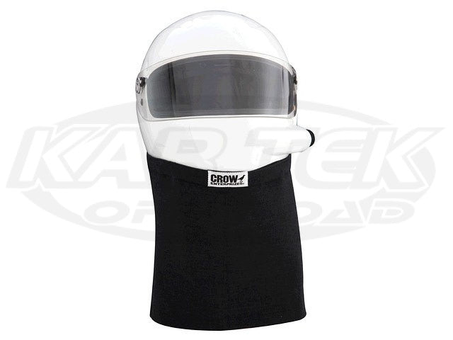 Crow Nomex Helmet Skirt Black