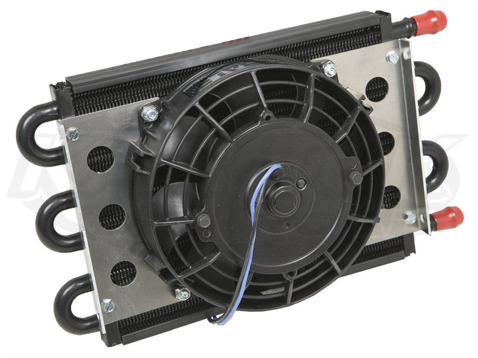 "Derale Econo Remote Oil Coolers 7"" 400 CFM Fan"