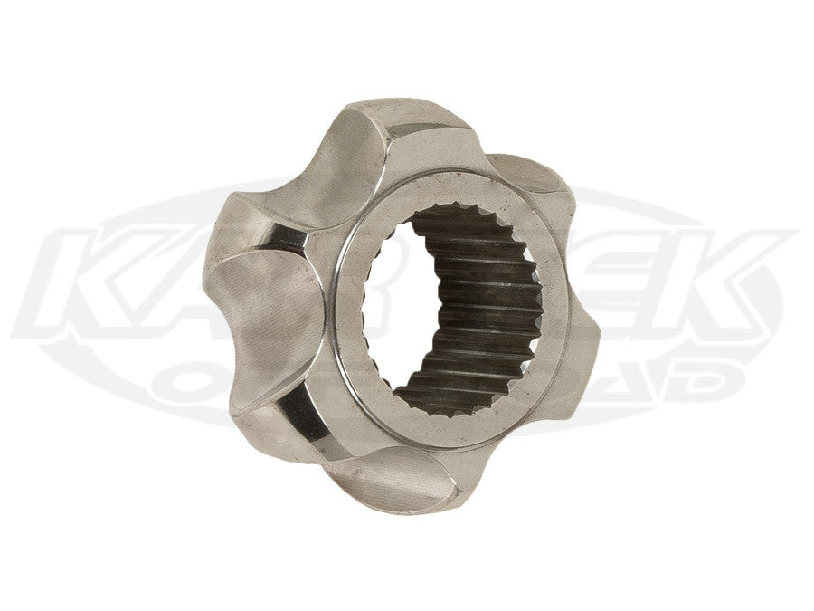 Fortin Racing 300m Material Polished Porsche 930 CV Joint Star For 28 Spline Axles