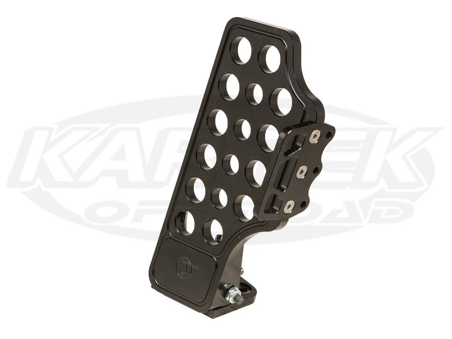 Jamar Performance Pro-X Anodized Black Billet Aluminum Throttle Pedal With Side Foot Rest