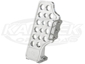 Jamar Performance Pro-X Machine Finish Billet Aluminum Throttle Pedal With Side Foot Rest