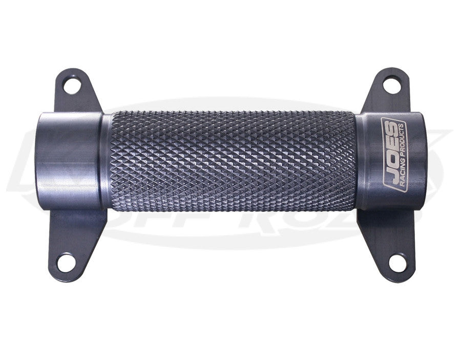 "Joes Racing Products Billet Aluminum Knurled Foot Heel Stop 4"" Long 1-1/8"" Tall"