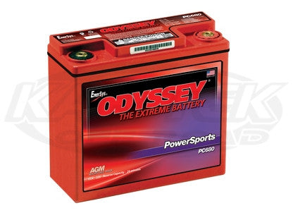 Odyssey 680 Series M6 Threaded Terminals, Metal Jacket