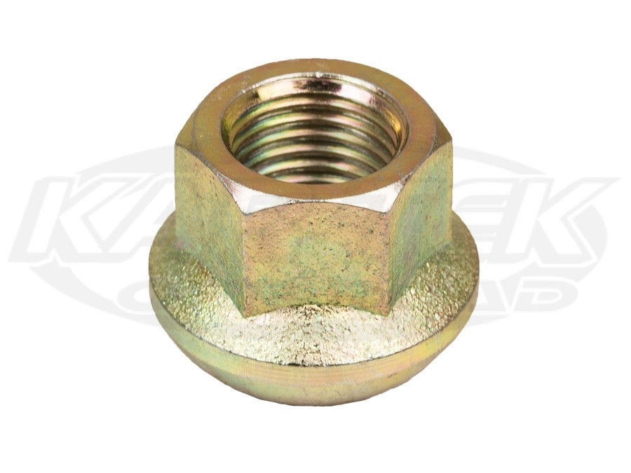 Gold 14mm-1.5 Ball Seat Open End Nut For 5 Lug Centerline, BTR, EMPI Race Trim, Method Race Wheels