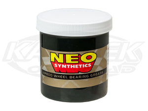 Neo Synthetics HP800 Synthetic Wheel Bearing Grease 12.5 oz. Jar