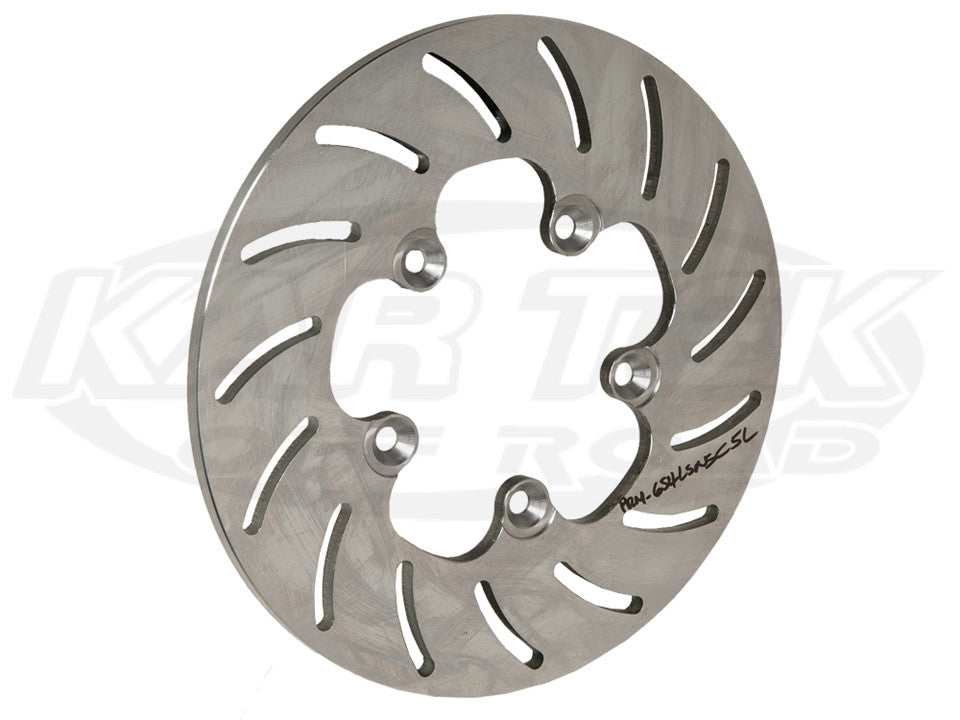 "11"" 5 Bolt Slotted Steel Rotors 5 x 4-1/2"", .375"" W, Left"