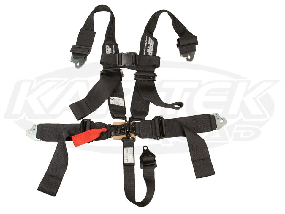 5.3 Snap-In Seat Belt Black