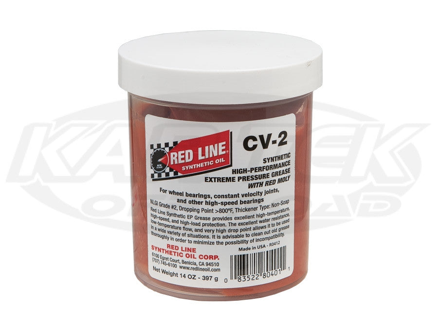 Red Line CV-2 Synthetic CV Grease 1 lbs. Jar