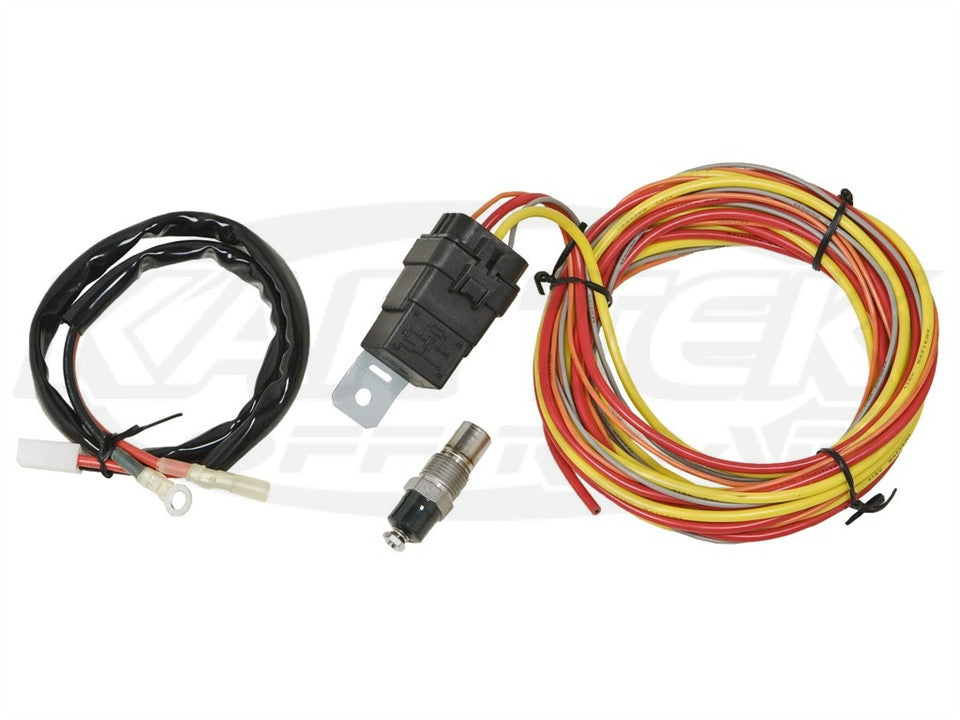 spal fan relay and wiring harness kit does not include a thermostat rh racegearwa com au spal relay wiring diagram Relay Switch Wiring