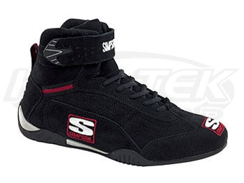 Simpson Adrenaline Black Driving Shoes Size 13