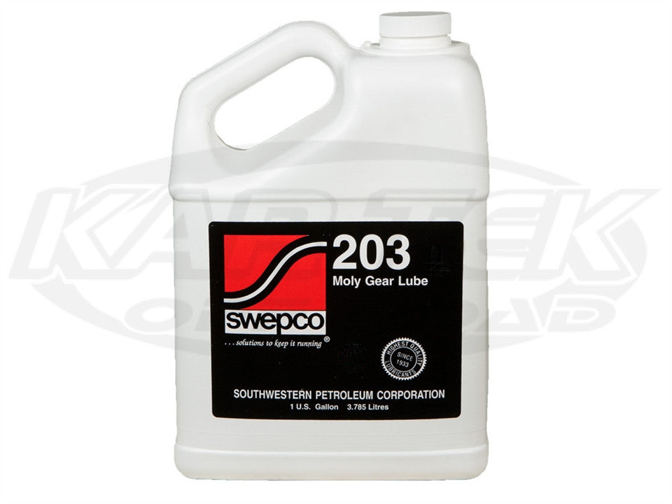 SWEPCO SAE Grade 90 Transmission Moly Gear Oil ISO 220 Grade 1 Gallon