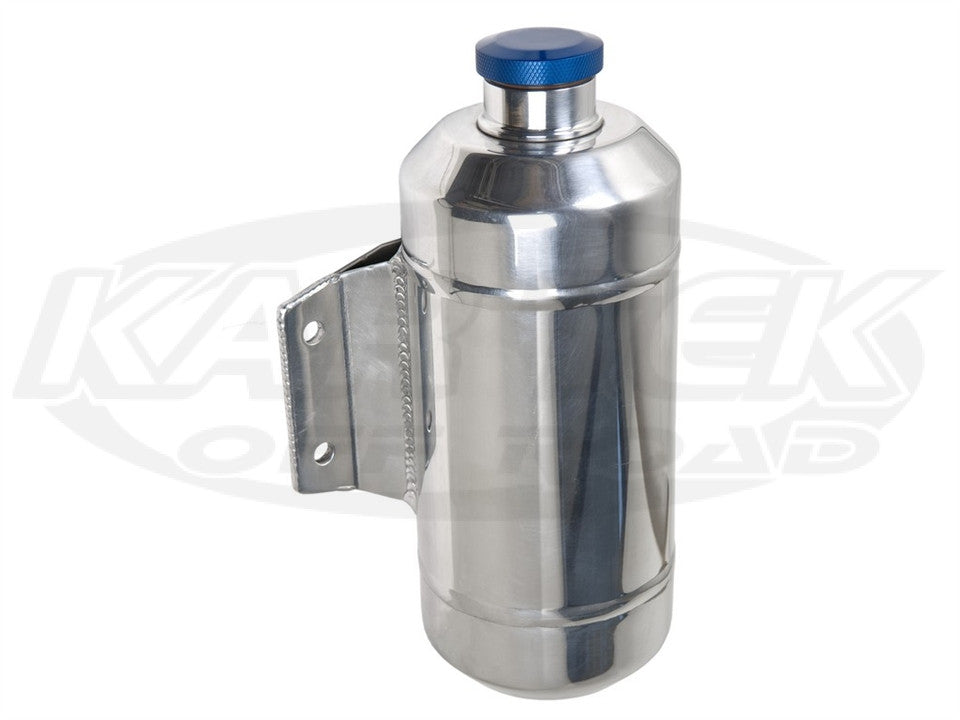 Offset Mount Aluminum Overflow Tank Offset Mount