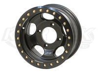 Robby Gordon Off Road UTV Race Beadlock Wheel 15x6.5 size, 4-156mm bolt pattern, -24mm offset