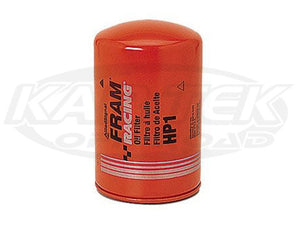 FRAM HP1 Oil Filter HP1 Style