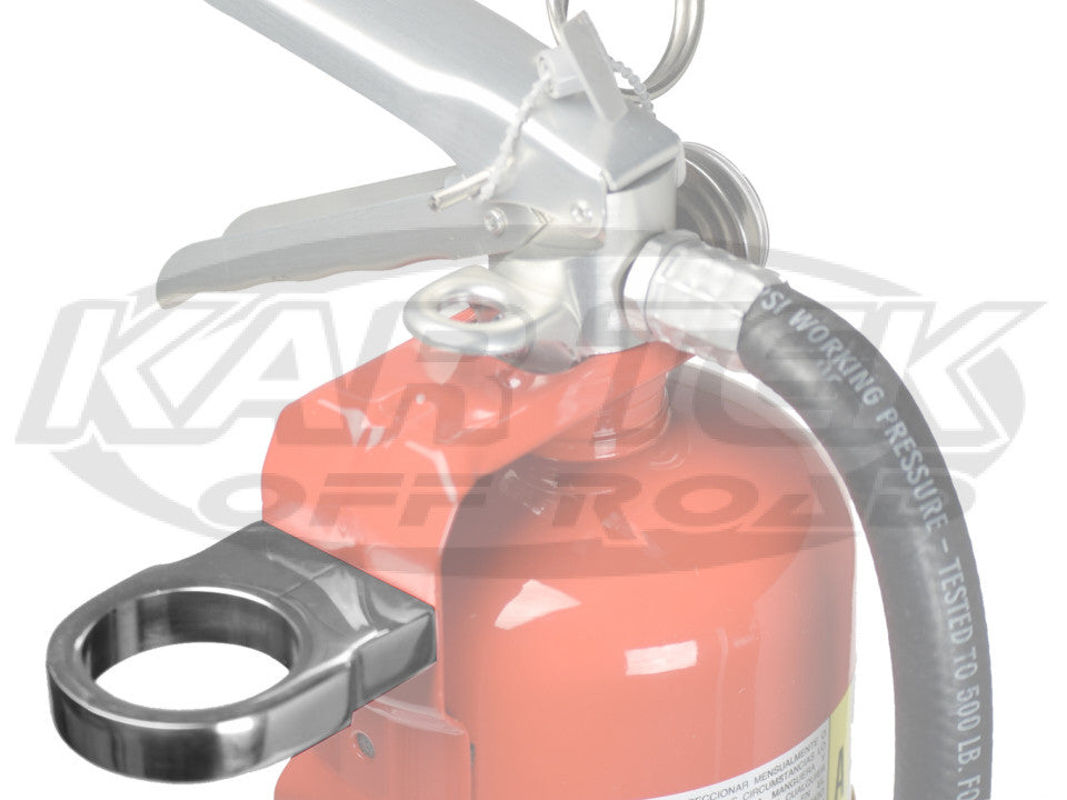 "Billet Pro Fire Extinguisher Clamp For 1-1/2"" Tube Does Not Include Fire Extinguisher 2 Required"