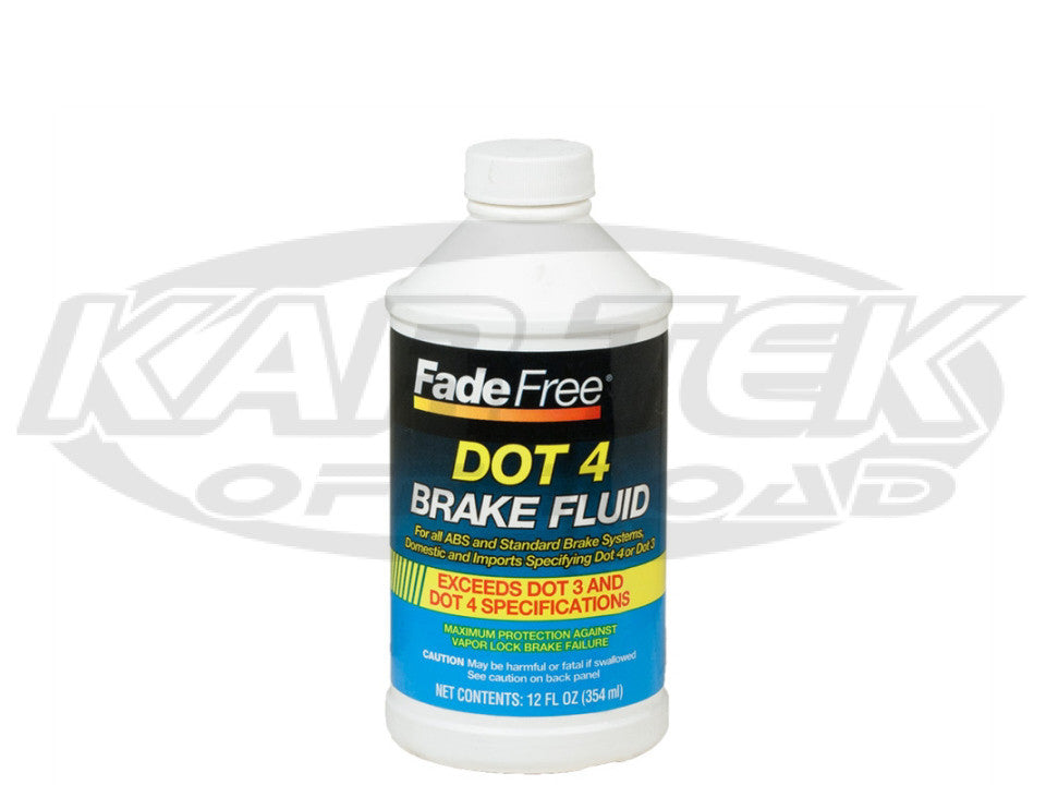 Master Products DOT 4 Brake Fluid 354ml Bottle Typical Boiling Point 311 Degrees Wet 446 Degrees Dry